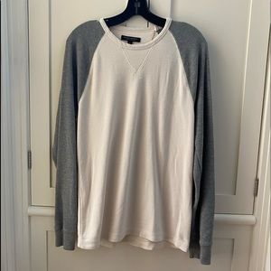 Pima Cotton Men's Long Sleeve Sweat Shirt  M